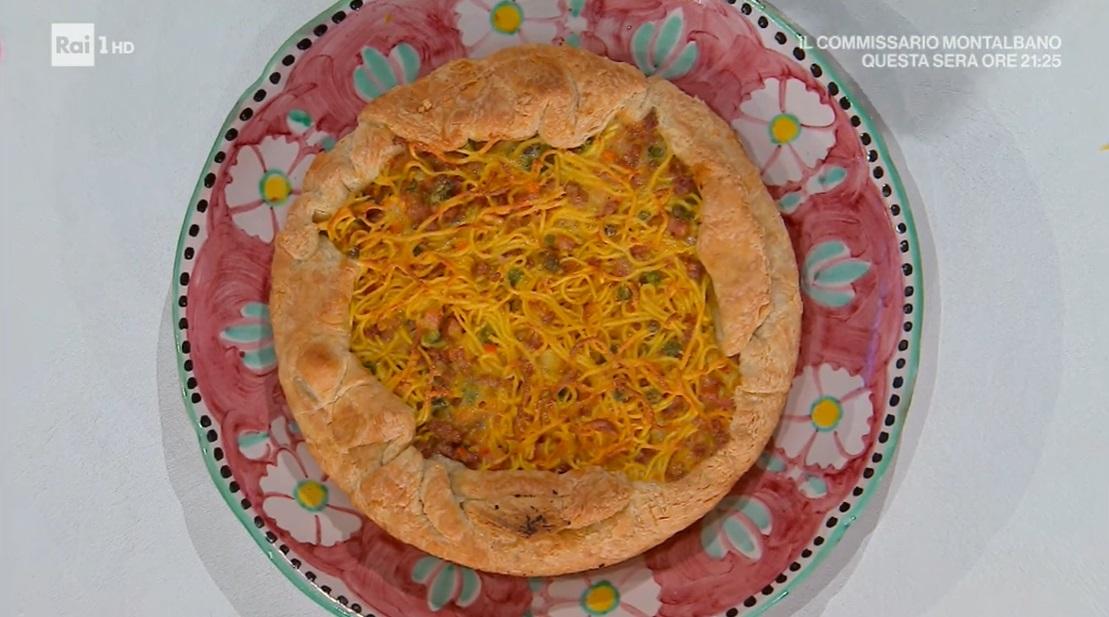 pizza di tagliolini di Mauro e Mattia Improta