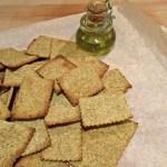 Crackers integrali con pasta madre | Whole spelt sourdough crackers
