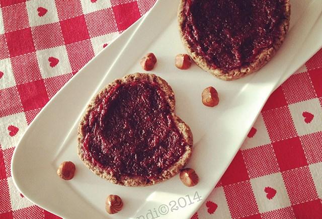 linzer torte vegan crostata