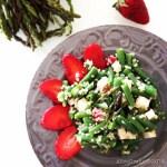 Insalata di quinoa e tofu in primavera | Quinoa and tofu spring salad