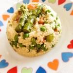 Miglio con verdure al masala | Millet with vegetables and masala