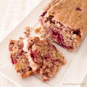 kiwi lamponi avena plumcake oat raspberries loaf cake