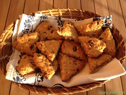 vegan scones avena mirtilli oat blueberry