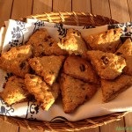 Scones con avena e mirtilli | Blueberry vegan scones