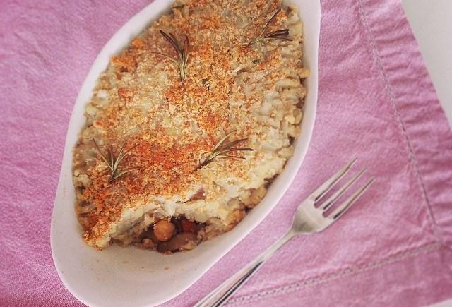 vegan shepherd pie