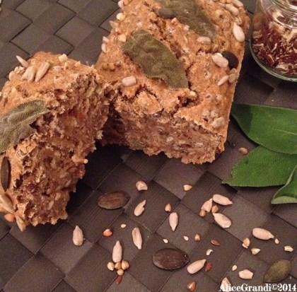 pane integrale lenticchie whole wheat lentil bread