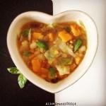 Zuppa di legumi con zucca e miso | Pulses and squash miso soup