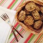 Polpette di cous cous e cavoli allo zenzero | Baked couscous broccoli fritters