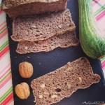 Pane integrale alle noci e zucchine, con lievito madre | Whole wheat zucchini walnut sourdough bread