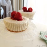 Mini cheesecake gelato ai lamponi | No bake mini raspberry cheesecakes