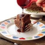 Torta al cioccolato con arancia e rosmarino (senza uova, latte e burro) | Orange and rosemary vegan chocolate cake
