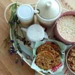 Biscotti ai cereali, sesamo e goji berries | Healthy granola cookies