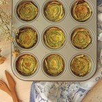 Rose di zucchine al forno | Vegetarian stuffed zucchini roses