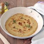 Farinata di ceci in padella | Italian chickpea pancake {vegan recipe}