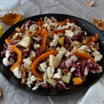 Zucca al forno con pere, tofu e noci candite | Fall tofu salad