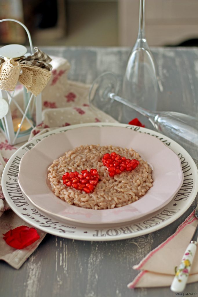 risotto-melagrana-tahin-pomegranate-vegan