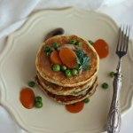 Pancake salati light {proteici, integrali} | Healthy protein pancakes