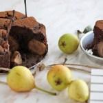 Torta vegana pere e cioccolato | Vegan chocolate & pear cake