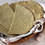Piadina romagnola integrale |  Whole wheat piadina (flat bread) recipe