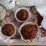 Muffin vegani di patate dolci | Sweet potato healthy muffins