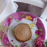 Pancakes vegani integrali {ricetta light, con lievito madre e senza} | Vegan fluffy pancakes
