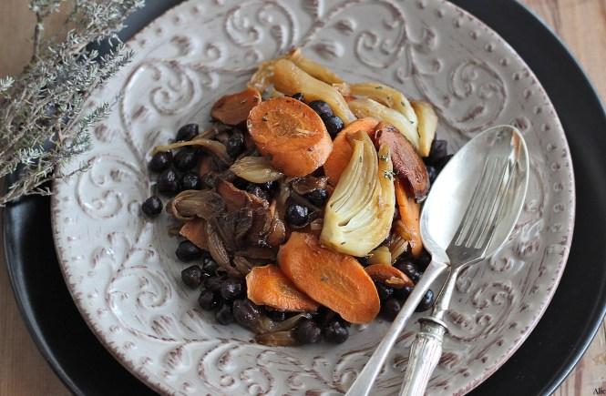 insalata-ceci-verdure-in-padella