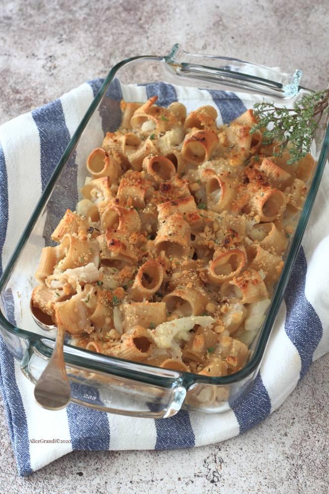 pasta-con-cavolfiore-al-forno-cremosa