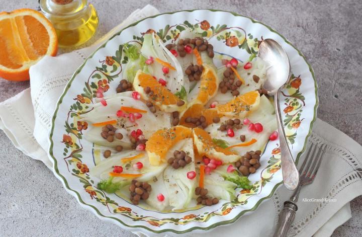 insalata-invernale-finocchi-arance-lenticchie-melagrana