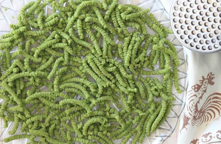 passatelli-ricetta-romagnola-senzaglutine-spinaci