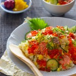 Salmon and Egg Sushi Bowl