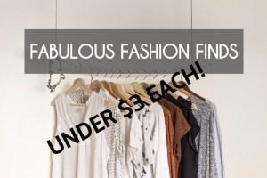 FABULOUS FASHION FINDS 11
