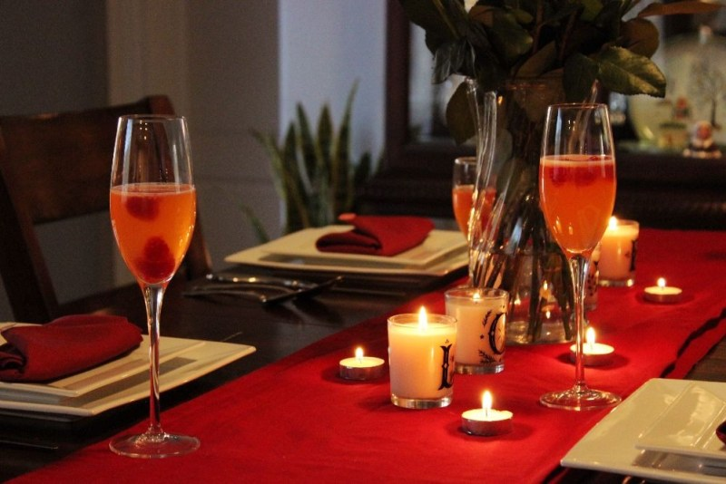 Valentines Day Tablescape 2