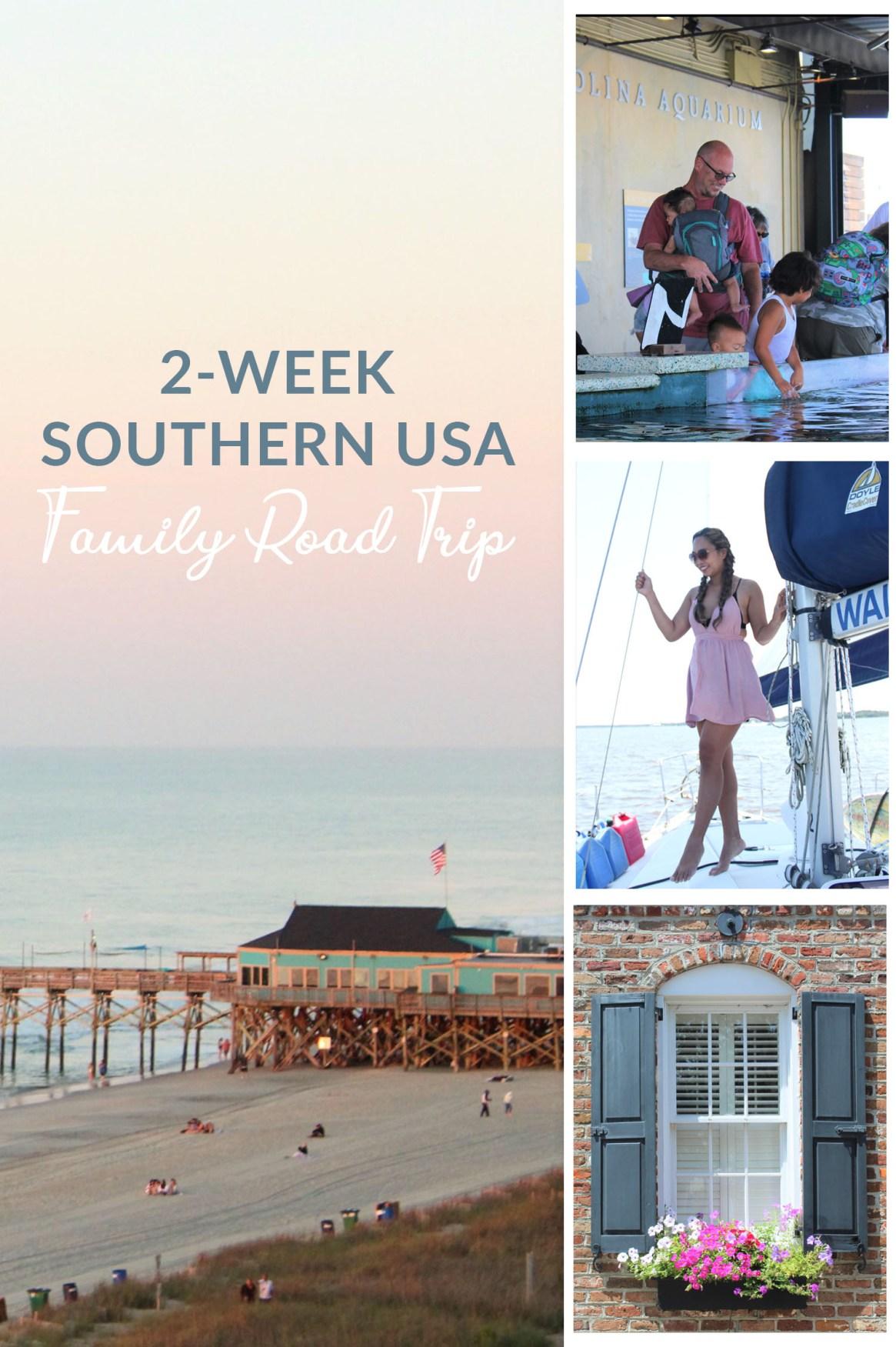 SOUTHERN USA ROAD TRIP - pin it