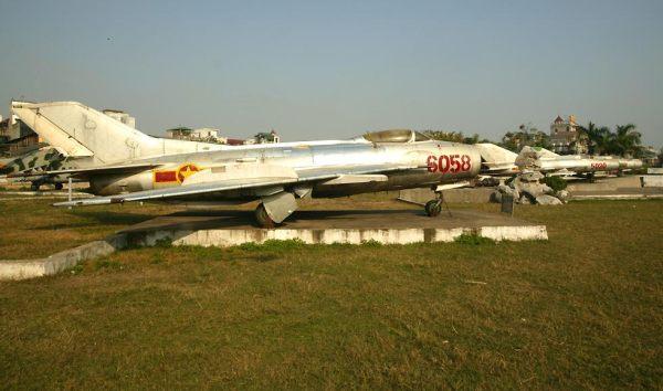 MiG-19 Farmer, MiG-15 Fagot and MiG-21 Fishbed