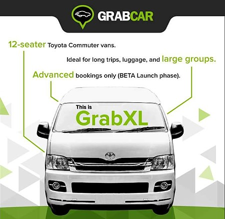 How To Book A 12 Seater Van From Grabtaxi Richard Barrow In Thailand