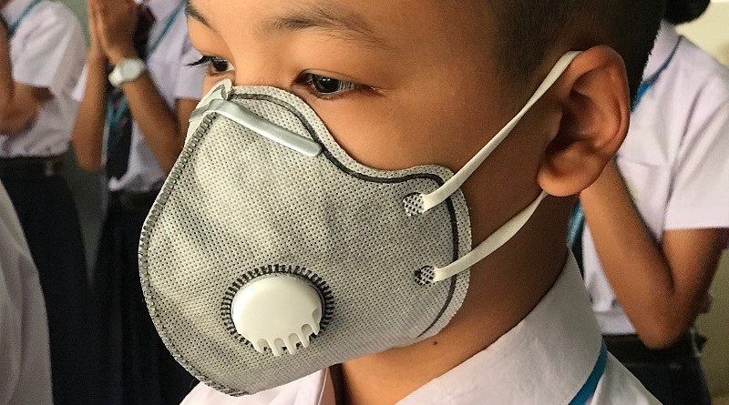 Air Pollution Policy at Sriwittayapaknam School in Thailand