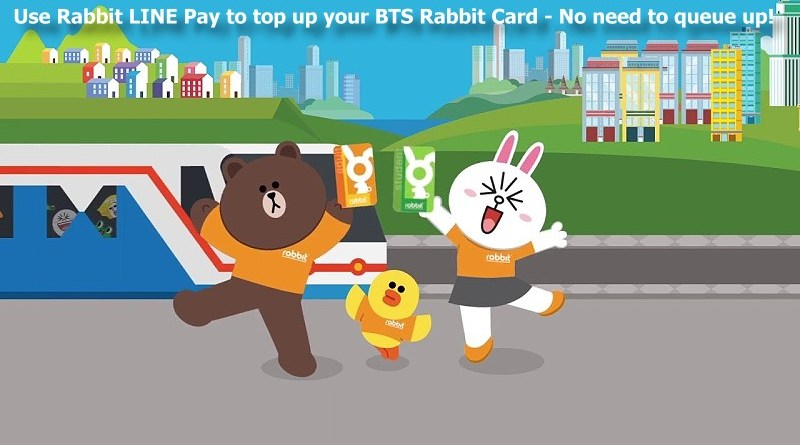 How to Top Up your BTS Rabbit Card without queuing up ever again