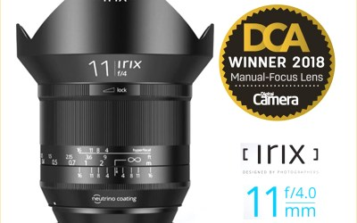Irix Lens Wins the Best in Class Award