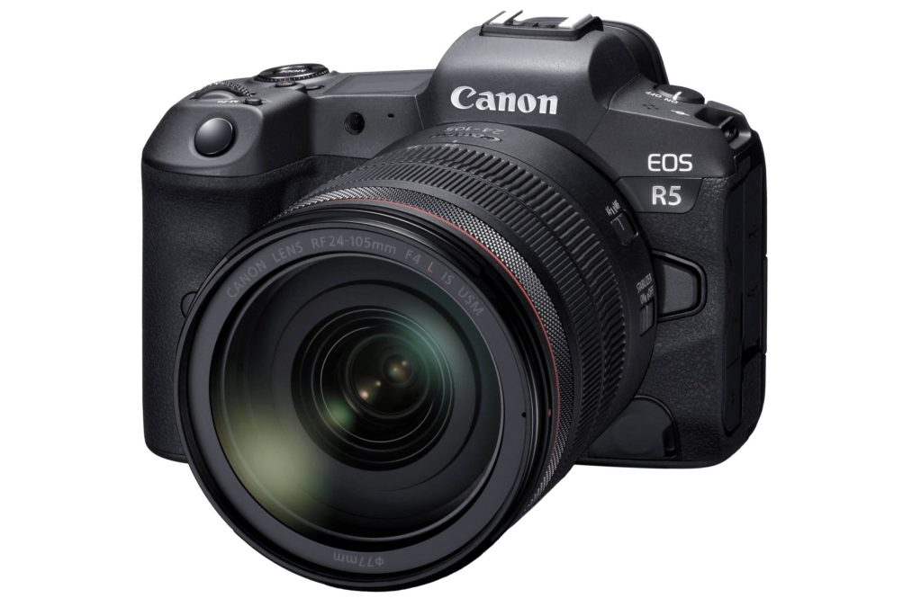 Introducing the Canon EOS R5