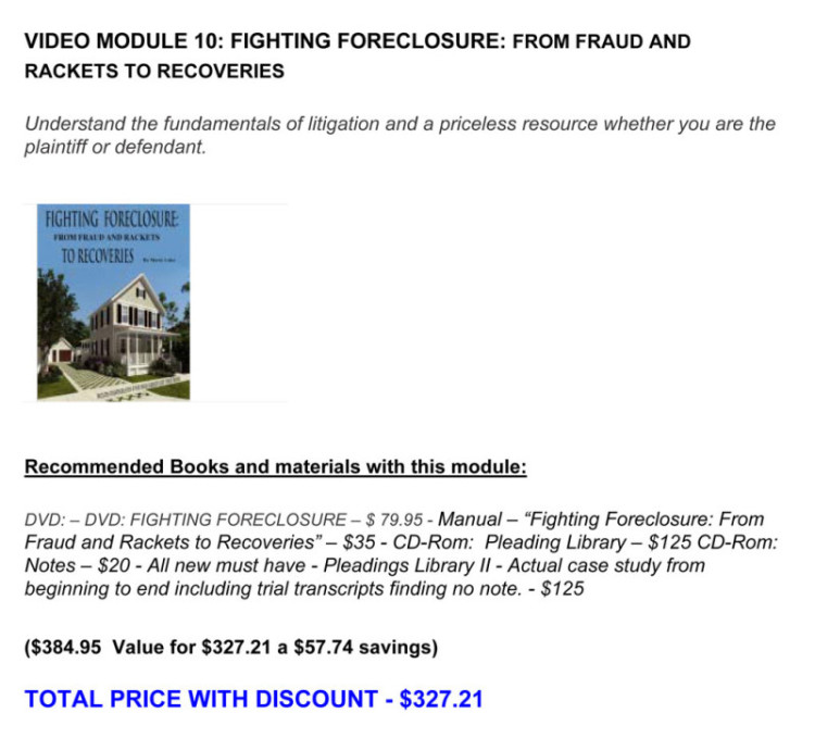 VIDEO-MODULE-10---FORECLOSURE