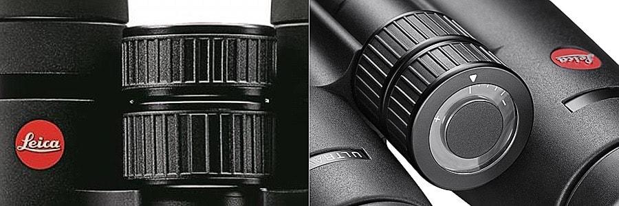 Leica UltraVid HD Plus Focus wheel