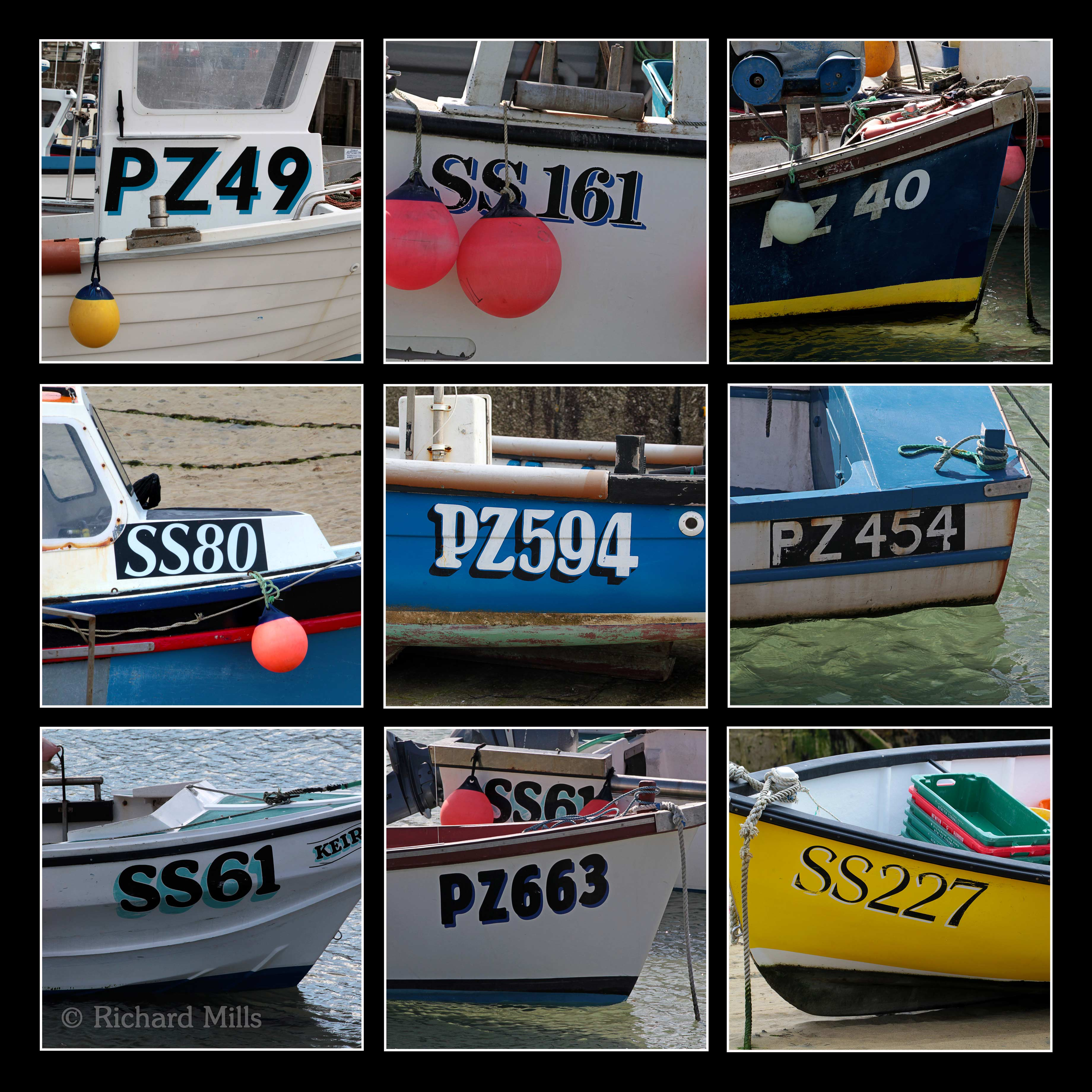Boat Numbers