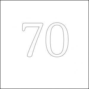 70 square 100