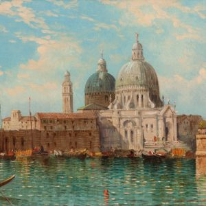 WILLIAM MEADOWS-OIL PAINTING-VENICE