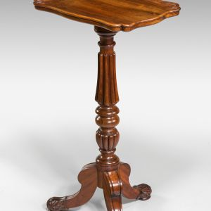 ANTIQUE GILLOWS LAMP TABLE OR FLOWER STAND