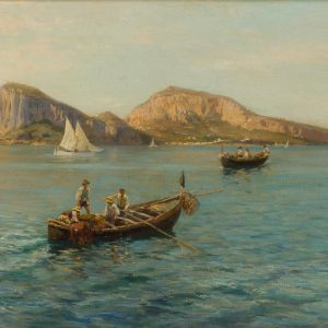 BERNADO HAY-OIL PAINTING-ISLE OF CAPRI