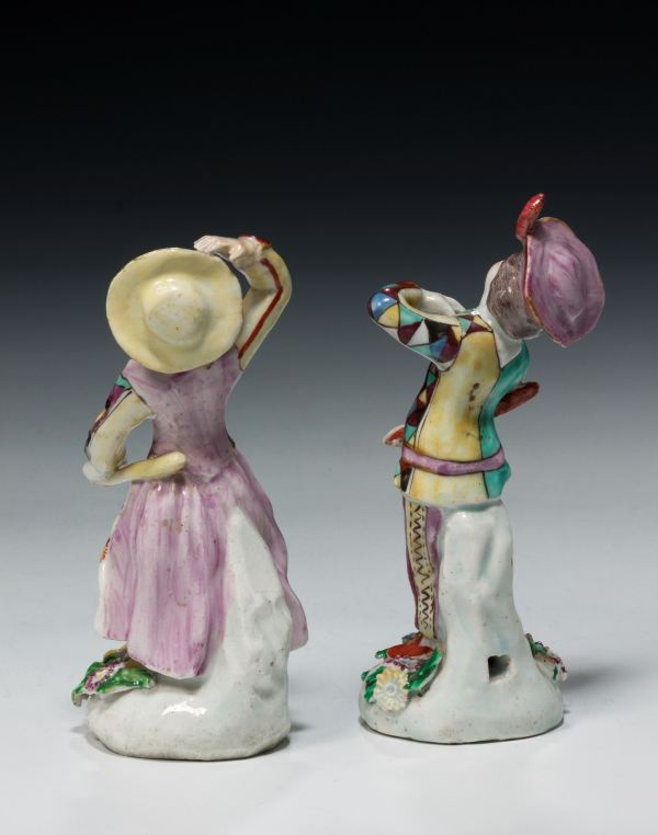 Bow-pair-figures-Arlecchino-Columbia-rare-antique-5059_1_5059