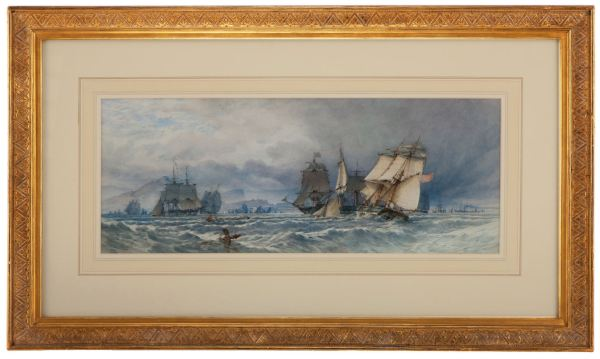 John-Callow-watercolour-Edinburgh-firth-forth-antique-marine-3798_1_3798