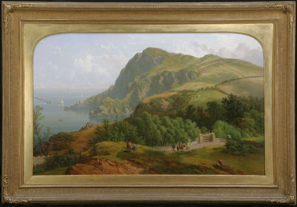 John-F-Tennant-oil-painting-Ilfracombe-Devon-antique-2082_1_2082