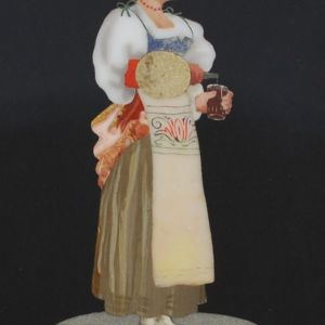 PIETRA DURA FLORENTINE PANEL FEMALE WOMAN